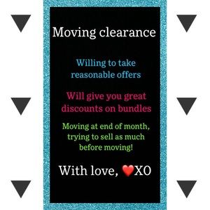 🎁MOVING CLEARANCE DEALS!🎁